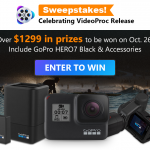 Win a GoPro Hero7 Black and Accessories from VideoProc Sweepstakes Gopro-sweepstake-EN1-150x150