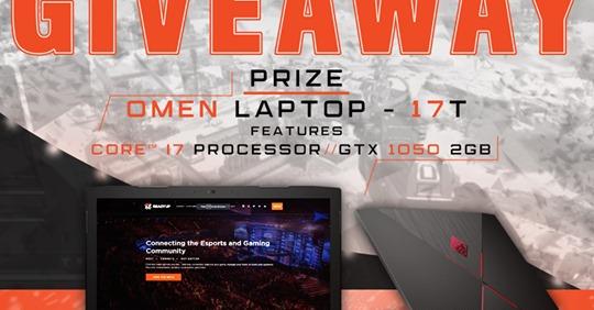 Readyup HP Omen Gaming Laptop Giveaway