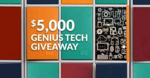 $5,000 Cash Giveaway from Genius Rech - Giveaway Play