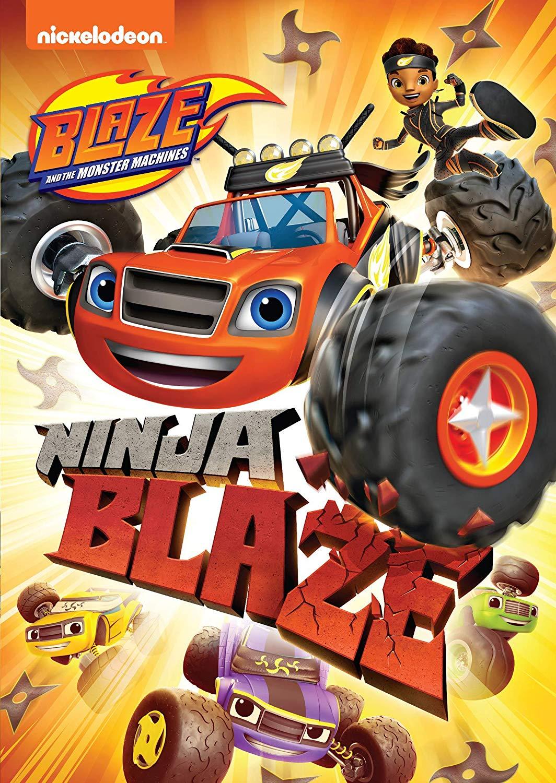 DVD Blaze and The Monster Machines Ninja Blaze