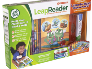 WIN A LeapFrog LeapReader Learn to Read Megapack 00012-300x223